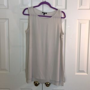 💯 Silk Cream Tunic Eileen Fisher Size Small